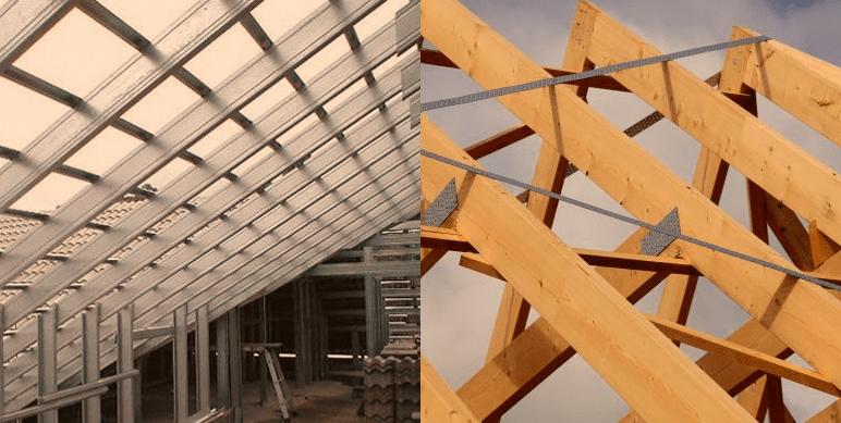 Estrutura de aço ou madeira, qual escolher ?