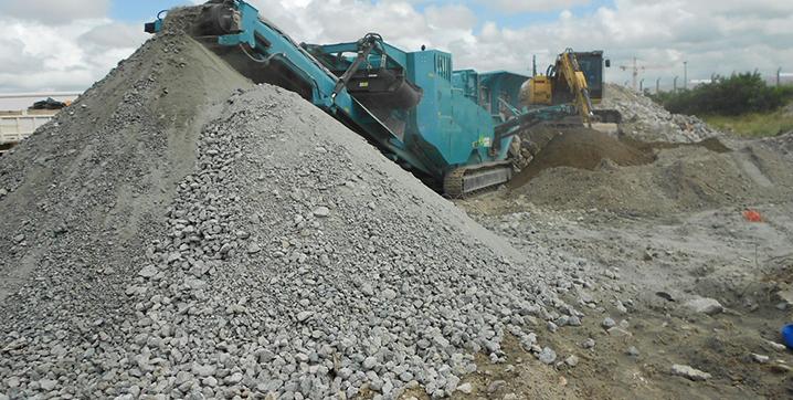 Como reciclar e reutilizar concreto