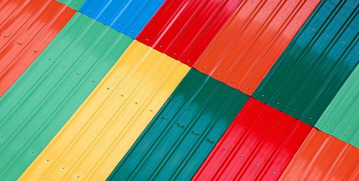 Benefícios das telhas pré-pintadas
